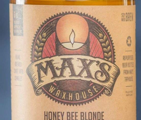 Honey Bee Blonde - Maxs Waxhouse Candle