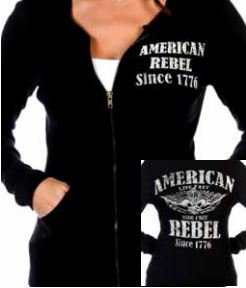 American Rebel - Liberty Wear Zip Up