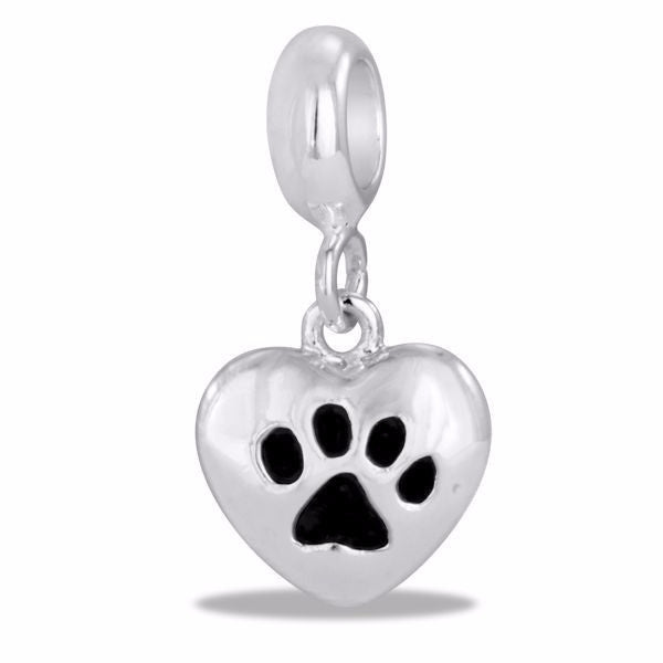 Dog Paw Heart - DaVinci Bead - Pi Style Boutique - Center Court