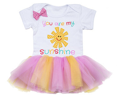 Sunshine - Diaper shirt Tutu (FINAL SALE)