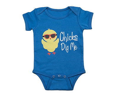 Chicks Dig Me - Ella Jackson Diaper Shirt