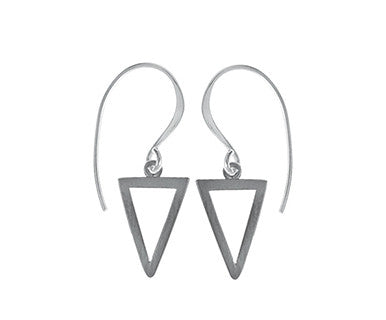Matte Ruthenium/Hp Earwire Earring - Pi Style Boutique - Boma Jewelry - Accessories