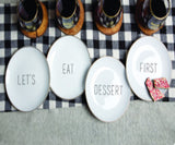 Small Bites - 4pc plate sets - Pi Style Boutique - Pi Style Boutique -  - 5