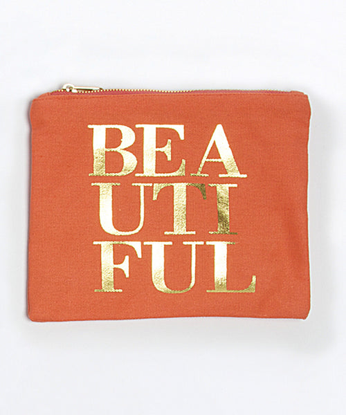 Lets Makeup - Canvas Pouch - Pi Style Boutique - 8 Oak Lane - Accessories - 3