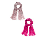 Scarves - Scripty - Pi Style Boutique - Ganz - Gifts & Decor