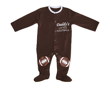 Daddy's Little Football - Baby Sleeper
