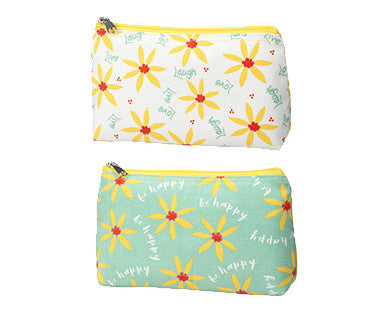 Be Happy - Cosmetic Bags - Pi Style Boutique - Ganz - Gifts & Decor