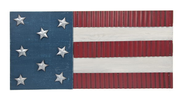 Americana Flag Plaque by Ganz