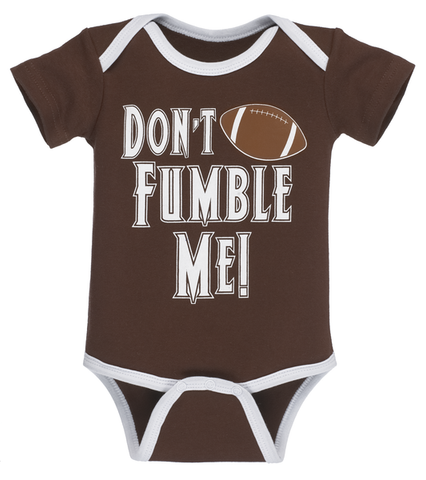Don't Fumble Me - Baby Diaper Shirt
