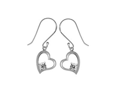 Dgl Earring/ Heart Am - Pi Style Boutique - Boma Jewelry - Accessories