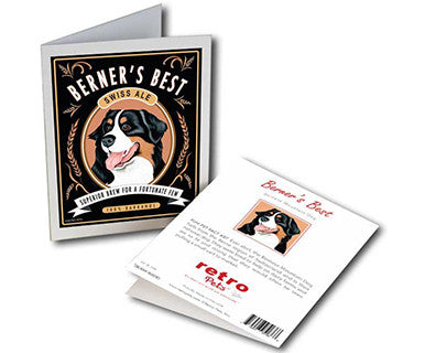 Berner's Best - Greeting Card