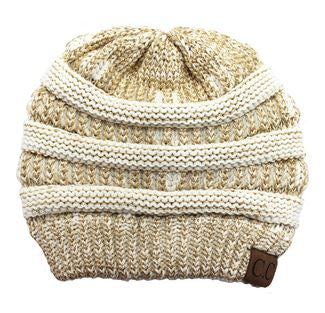 Cable Cutie - Slouchy Hat
