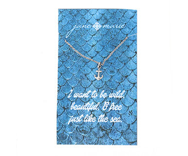 Little Anchor - Jane Marie Necklace