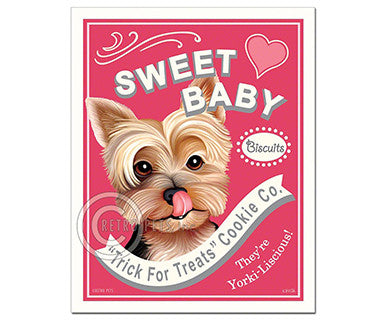 Sweet Baby - Magnet - Pi Style Boutique - Retro Pets Art - Gifts & Decor
