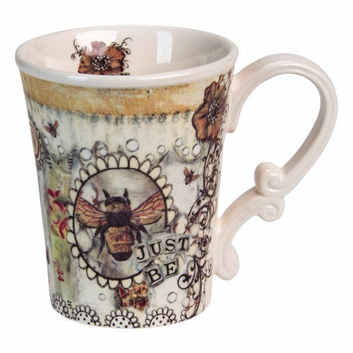 Just Be Ceramic Mug - Pi Style Boutique - Santa Barbara Design Studio