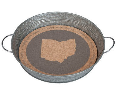 Ohio Serving Tray - Pi Style Boutique - Occasionally Made - Gifts & Decor
