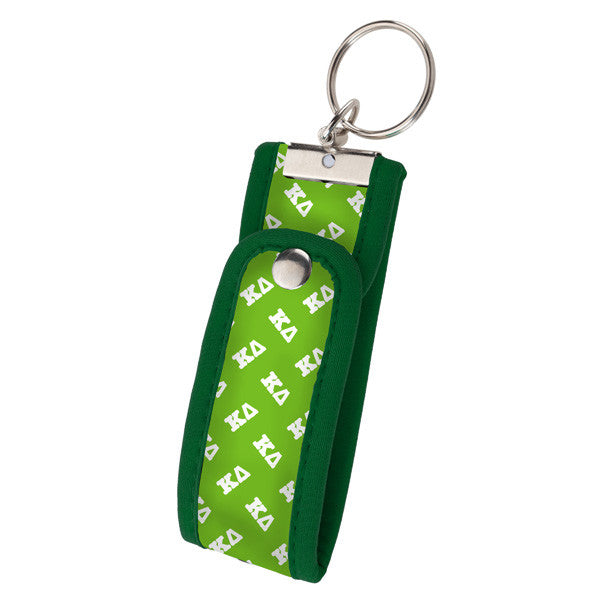 Occasionally Made Neoprene Key Fob - Kappa Delta - Pi Style Boutique - Occasionally Made