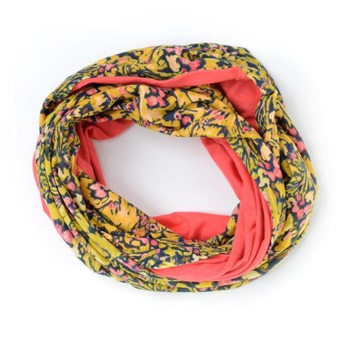 Camo Flowers Pineapple - Oilily Scarf