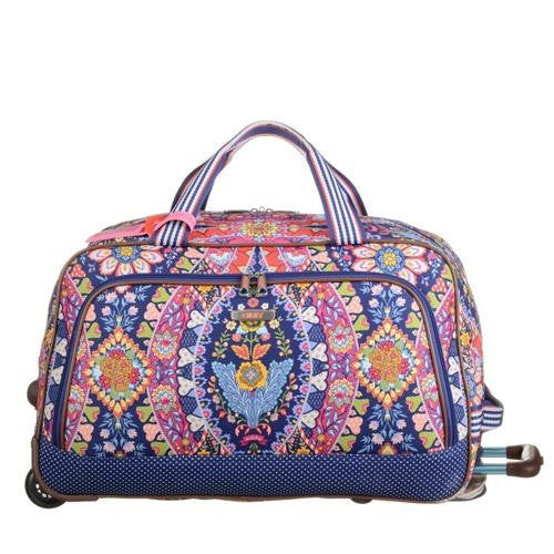 Travel Weekender Trolley Navy - Pi Style Boutique - Oilily