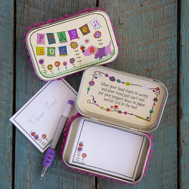 Prayer Box (Pink Dog) - Pi Style Boutique - Natural Life