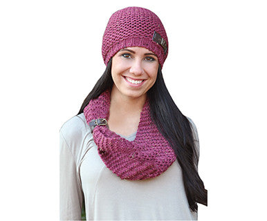 Buckled Beanie - Simply Noelle Hat