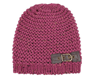 Buckled Beanie - Simply Noelle Hat - Pi Style Boutique - Noelle - Accessories - 2