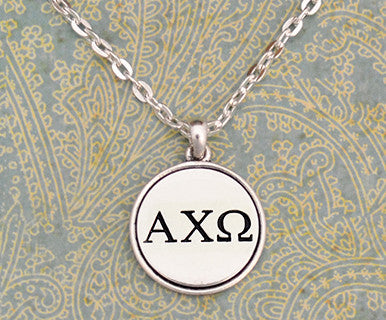 Alpha Chi Omega Necklace - Pi Style Boutique - Pi Style Boutique - Accessories