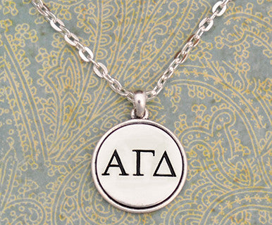 Alpha Gamma Delta Necklace - Pi Style Boutique - Pi Style Boutique - Accessories