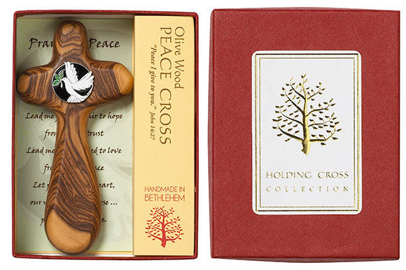 """Olive Wood"" - Holding Cross - Pi Style Boutique - Good Gift - 3"