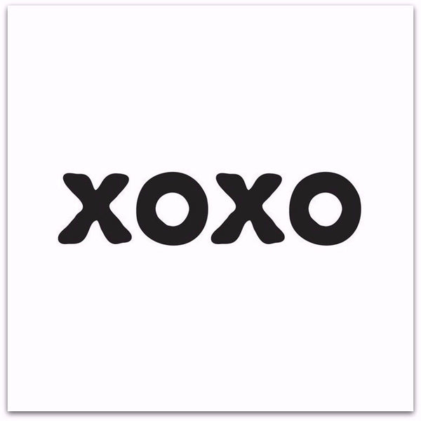 """XOXO"" - Quotable Card - Pi Style Boutique - Quotable Cards"