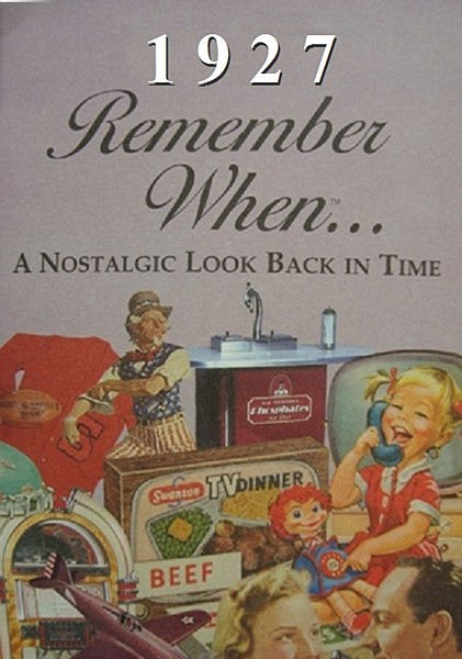 Remember When Booklet - Pi Style Boutique - Seek Publishing - Gifts & Decor - 9