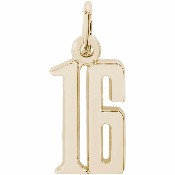 That's My Number - Rembrandt Charm - Pi Style Boutique - Rembrandt - 1