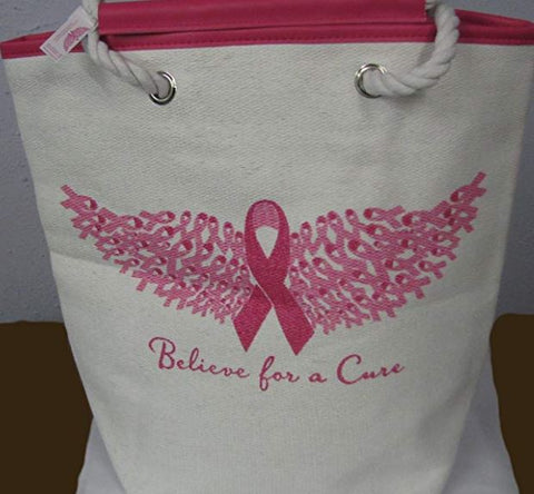 Believe for a cure - Alexas Angels Tote (FINAL SALE)