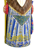 Santa With Blue Gown - Pi Style Boutique - Alkota - 2