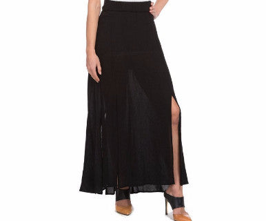 Show some leg - Slit Column Skirt - Pi Style Boutique - Accent Accessories - Clothing - 2