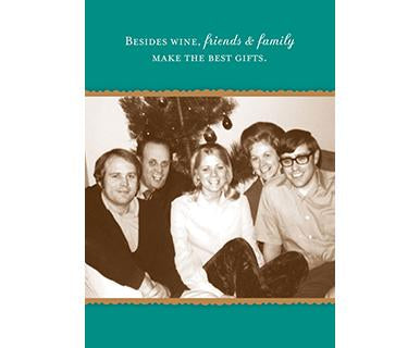 Besides Wine - Shannon Martin Designs Holiday Card