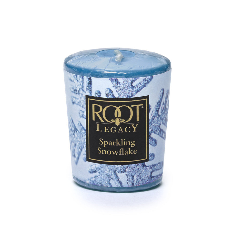 Sparkling Snowflake - Root Votive Candle - Pi Style Boutique - Root Candles - Bath & Body
