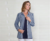 Gingham Button Up Xs Asst - Pi Style Boutique - Noelle - Clothing - 1