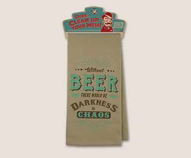 Bar Towel - Without Beer