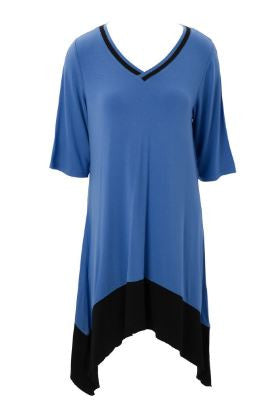Color Blocked - Tunic Dress - Pi Style Boutique - Mountain Mamas - Clothing - 2