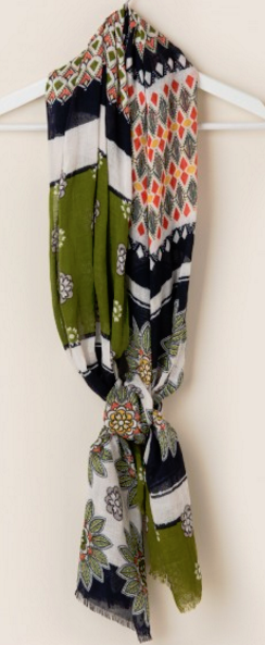 Floral Retreat - Spartina 449 Whitaker Scarf - Pi Style Boutique - Spartina - Accessories
