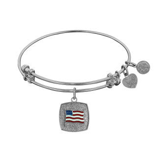 American Flag - Angelica Expandable Bangle Bracelet - Pi Style Boutique - Royal Chains Inc - Accessories