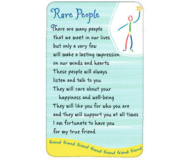 Rare People - Wallet Card