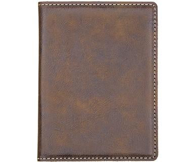Faux Leather Passport Holder
