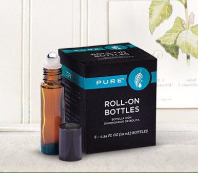 Essential Oil Roll-On Bottles 6-Pack - Pi Style Boutique - Melaleuca - Bath & Body