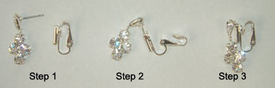 From pierce to clip - Earring Finding - Pi Style Boutique - Howard's - Accessories - 2