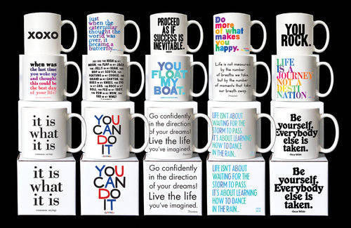 Be Yourself - Quotable Mug - Pi Style Boutique - Quotable Cards - Gifts & Decor