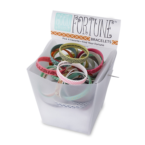 Good Fortune - Silicone Bracelet