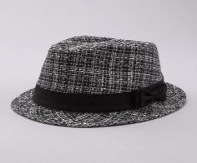 Summer Tweed  - Fedora Hat