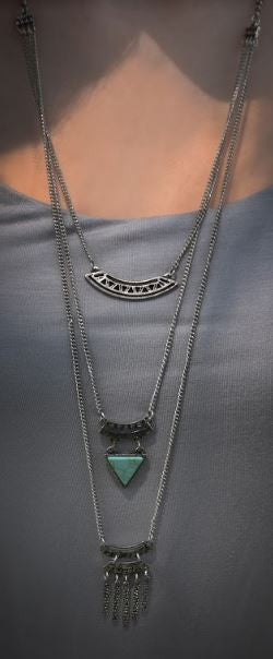Aztec Vibes - Layered Necklace